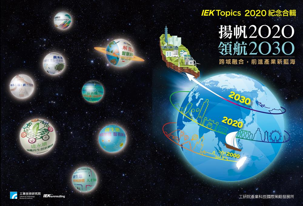 IEKTopics 2020 專刊紀念合輯精彩大公開!